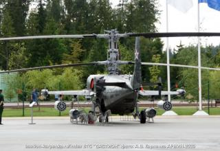 Вертолёт Ка-50. http://bastion-karpenko.ru/army-2020/
