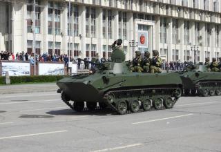 Боевая машина десанта второго поколения с экипажем