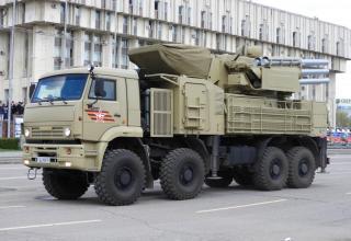 """Боевая машина ЗРПК """"Панцирь-С1"""""""