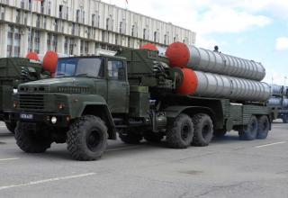 Боевая машина ЗРК С-300