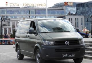 Машина подразделения Министерства обороны РФ