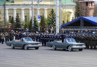 Репетиция Парада Победы в Городе-Герое Туле 05.05.2021 г.