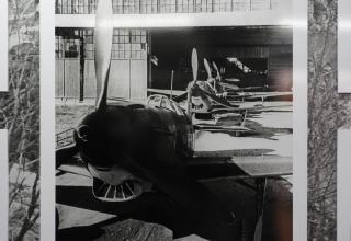 Фотография: Цех по производству истребителей Як-7 на заводе № 153 в Новосибирске