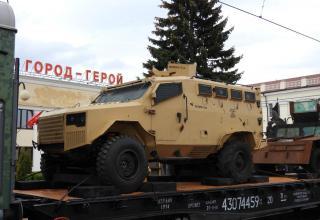 Бронеавтомобиль Panthera F9 турецкого производства
