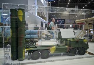 Макет ПУ ЗРК. https://flot2017.com/gp-luch-vystavil-novinki-na-vystavke-oruzhie-i-bezopasnost-2021-podrobnosti/