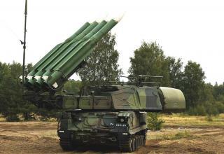 """Зенитный ракетный комплекс 9К37 """"Бук-М1"""""""