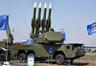 """Зенитный ракетный комплекс средней дальности 9К317 """"Бук-М2"""""""