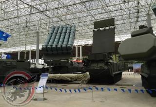 """Зенитный ракетный комплекс средней дальности 9К317М """"Бук-М3"""""""