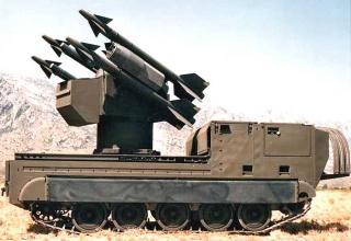 """Зенитный ракетный комплекс """"Chaparral"""""""