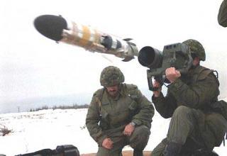 """Ракетный комплекс """"Eryx"""""""