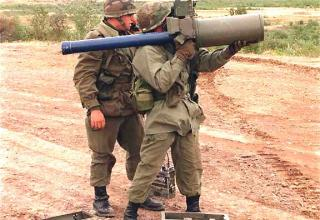 """Переносной зенитный ракетный комплекс """"Javelin"""""""