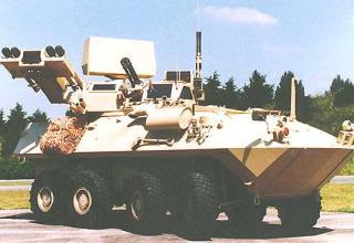 Зенитный ракетно-пушечный комплекс LAV-AD