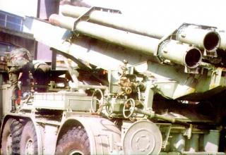 Реактивная система залпового огня M87 Orkan