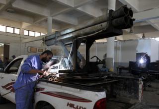Самодельные средства реактивной артиллерии в войнах и локальных вооружённых конфликтах