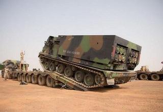 Франция развернула три РСЗО LRU MLRS в Мали