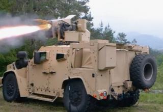 Выполнен первый пуск ПТУР Spike с борта военного автомобиля малой грузоподъёмности Oshkosh
