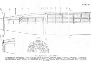 Неуправляемый реактивный снаряд МЗ-21 (9М22С)