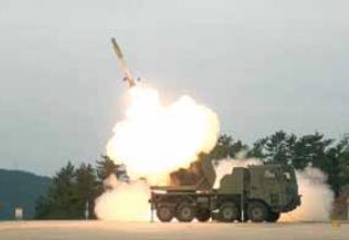 Опытная реактивная система залпового огня K-MLRS Cheonmoo (Chunmoo)