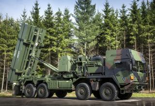 Опытный зенитно-ракетный комплекс MEADS