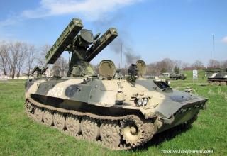 """Зенитный ракетный комплекс 9К35 """"Стрела-10СВ"""""""