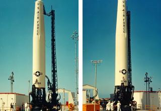 Баллистическая ракета средней дальности SM-75/PGM-17A Thor