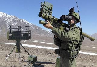 """Переносной зенитный ракетный комплекс 9К333 """"Верба"""""""