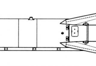 Проекции ракеты Х-29Л (изделие 64)
