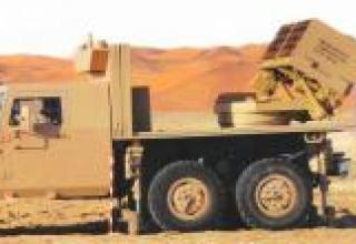 Вариант боевой машины LRSVM (шасси NIMR)