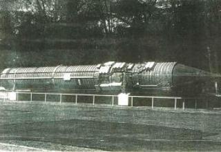 Комплекс командной ракеты (15П011) системы Периметр (15Э601) с ракетой 15А11