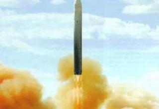 Стратегический ракетный комплекс УР-100Н УТТХ с ракетой 15А35
