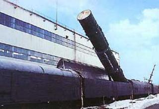 Боевой железнодорожный ракетный комплекс 15П961 Молодец с МБР 15Ж61 (РТ-23 УТТХ)