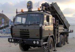 Зенитный ракетный комплекс SPYDER