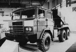Боевая машина Type 81 (для НУРС калибра 122 мм)