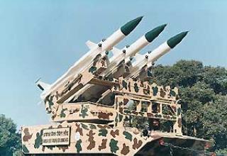 Зенитно-ракетный комплекс Akash