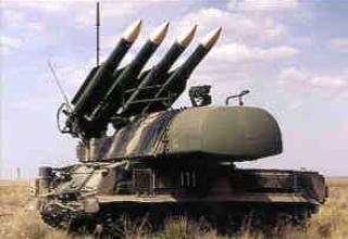 Зенитный ракетный комплекс 9К37 Бук