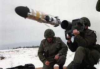 Противотанковый ракетный комплекс Eryx
