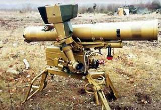 Переносный противотанковый комплекс 9К111 'Фагот'