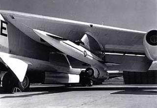 Крылатая ракета воздушного базирования AGM-28A/B (GAM-77/GAM-77A) Hound Dog