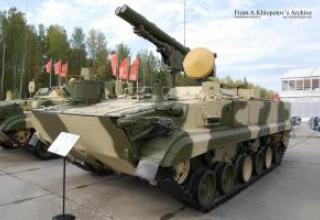 Противотанковый ракетный комплекс 9К123 Хризантема