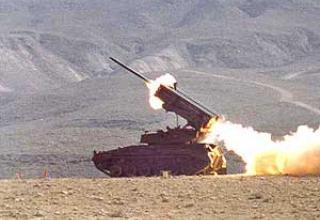 Реактивная система залпового огня LAR-160