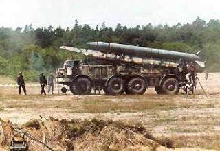 Тактический ракетный комплекс 9K52 Луна-М