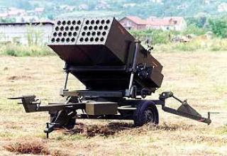 Буксируемая легкая реактивная пусковая установка М93А3 Heron