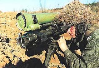 """Носимый противотанковый комплекс 9К115 """"Метис"""""""