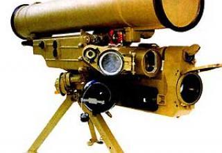 """Противотанковый ракетный комплекс 9К115-2 """"Метис-М"""""""