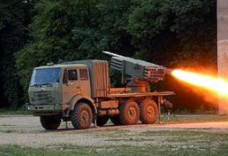 128-мм реактивная система залпового огня M-77 Oganj