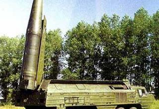 Оперативно-тактический ракетный комплекс 9К714 Ока