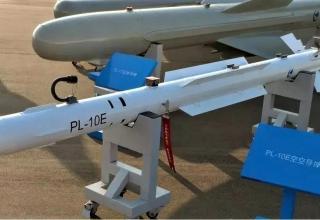 Авиационная ракета малой дальности PL-10E