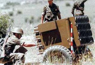 128-мм реактивная система залпового огня M63 Plamen / M94 Plamen-S