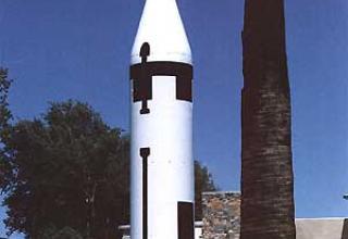 Баллистическая ракета подводных лодок UGM-27A Polaris A-1