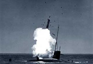 Баллистическая ракета подводных лодок UGM-27B Polaris-A2